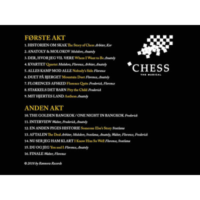 CHESS - Danske Highlights 2018