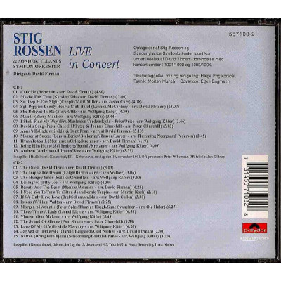 Live In Concert - 2CD